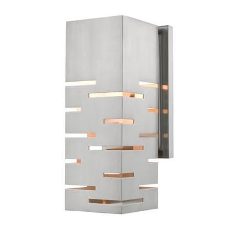 """Z-Lite 332-1S-LED Loek Single Light 5"""" Wide Integrated LED Bathroom Sconce - image 1 of 1"""