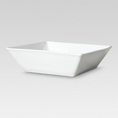 Square Porcelain Pasta Bowls (24oz)- Set of 4 - Threshold™