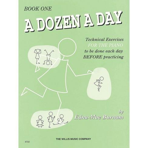 Hal Leonard A Dozen A Day Book 1 (Green cover) - image 1 of 1