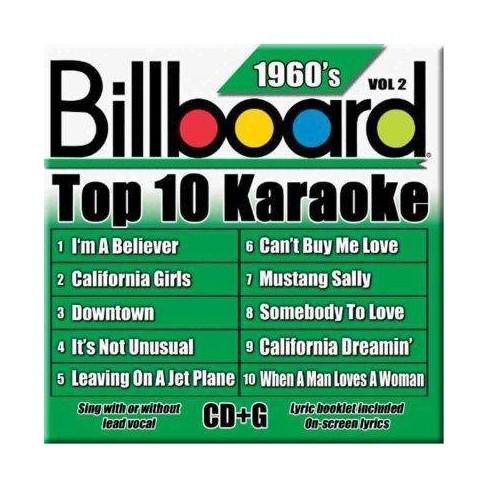 Sybersound Karaoke - Billboard Top 10 Karaoke:1960's Vol 2 (CD)