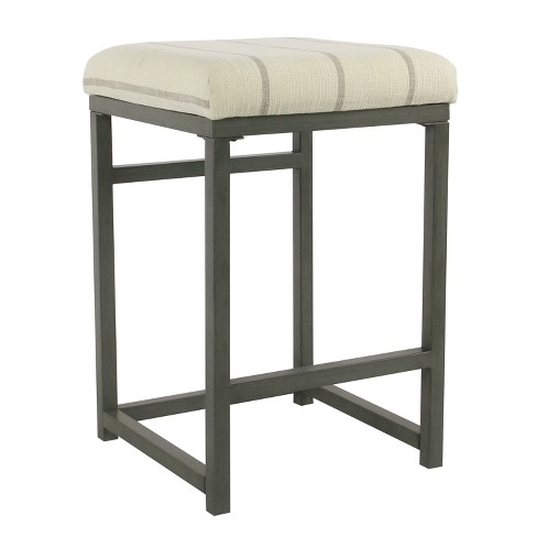 Open Back Counter Stool -Homepop - image 1 of 6