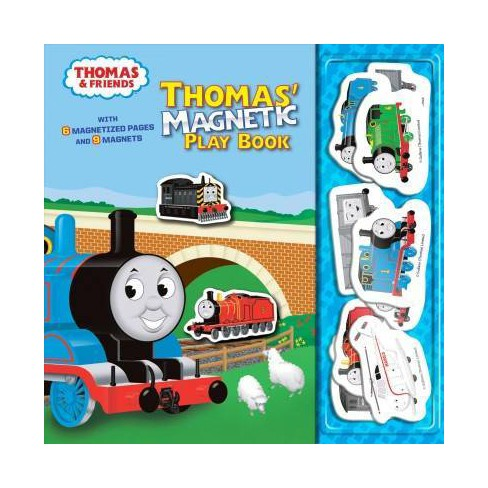 Thomas' Magnetic Play Book (Thomas & Friends) - (Board_book) - image 1 of 1