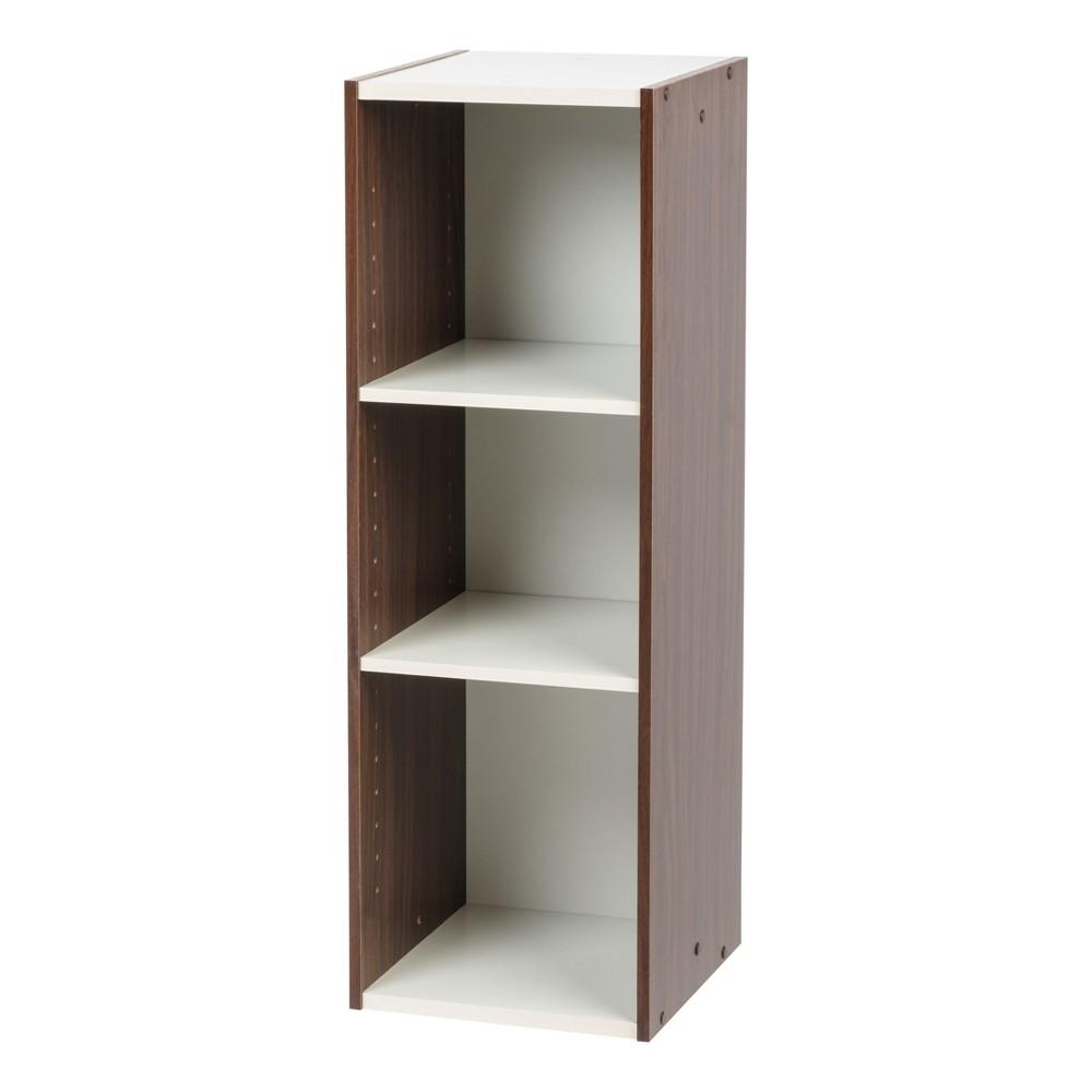 """Image of """"IRIS 11"""""""" x 34"""""""" Slim Storage Shelf - Walnut Brown"""""""