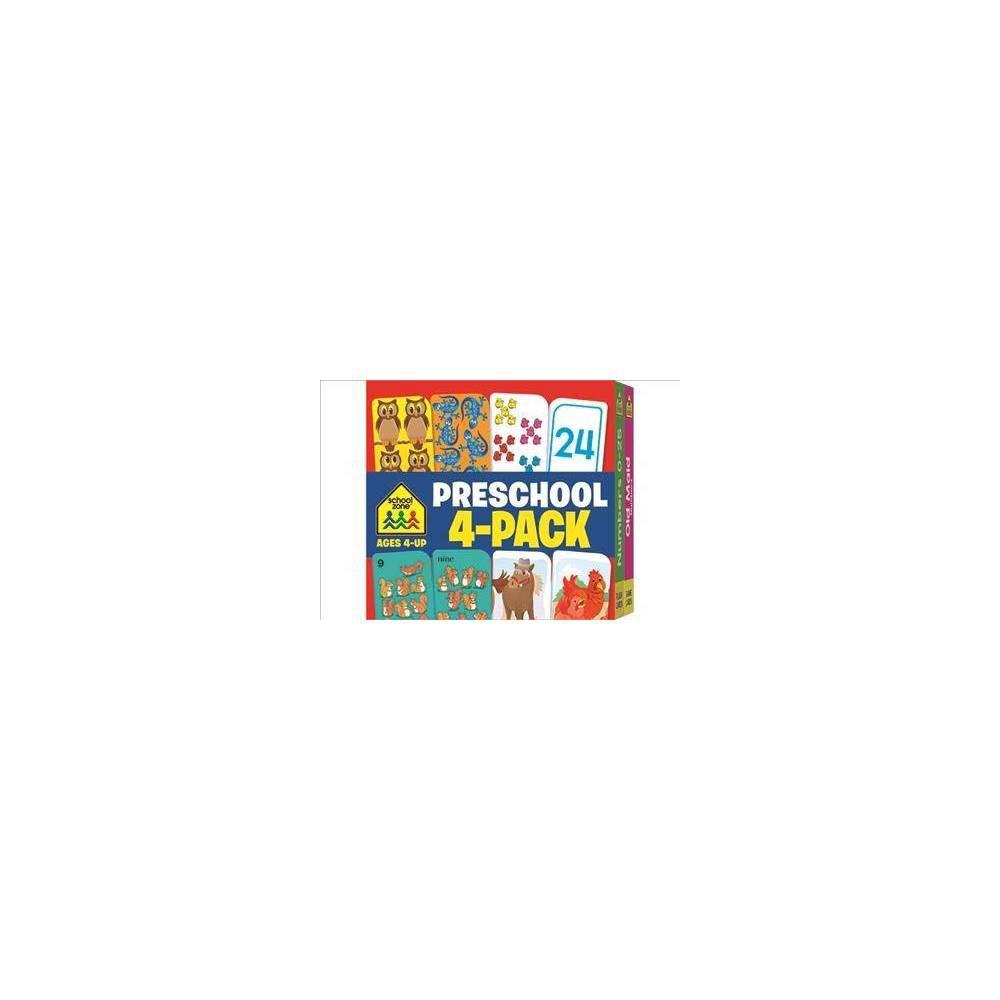 Preschool Ages - Crds (Flash Card 4-pk) (Paperback)