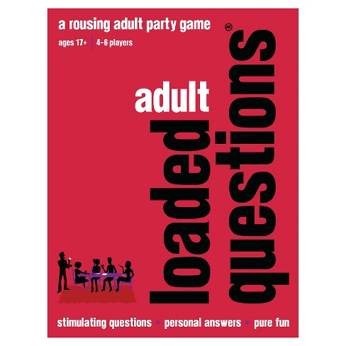 Loaded Questions Adult Party Game - image 1 of 2