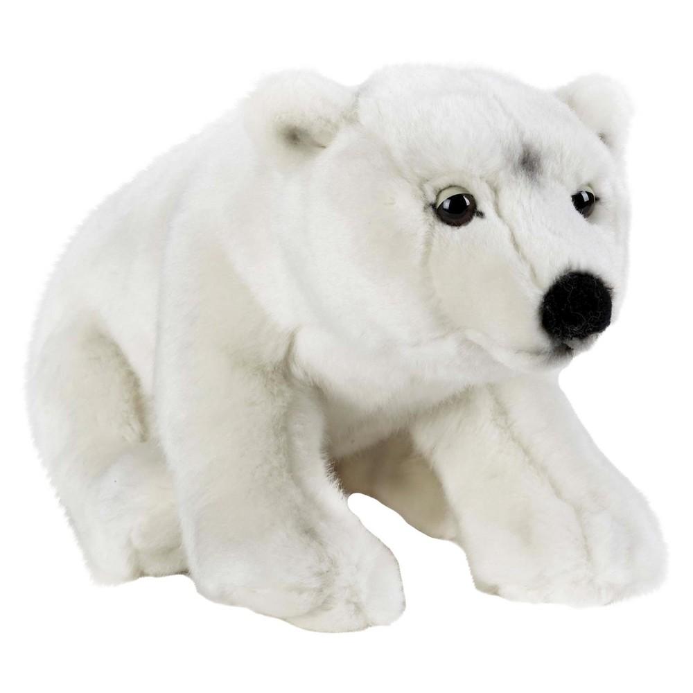Lelly National Geographic Polar Bear Plush Toy