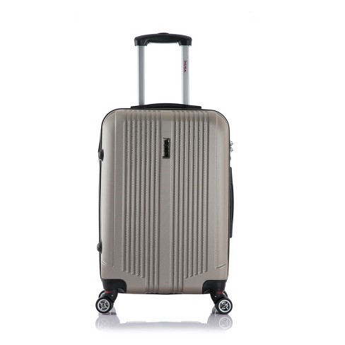 "InUSA San Francisco 26"" Hardside Spinner Suitcase - Champagne - image 1 of 5"