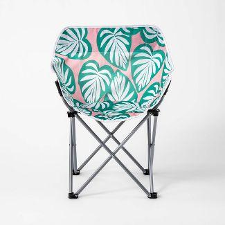 Adult Compact Chair Palm Leaf - Sun Squad™