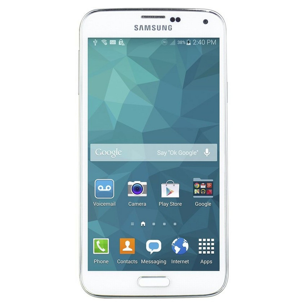 Unlocked Samsung Galaxy S5 White - FreedomPop - Certified Pre-owned