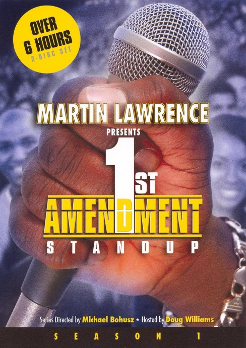 Martin lawrence's first amendment (DVD) - image 1 of 1