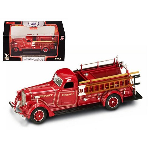 1939 American LaFrance B-550RC Fire Engine Red 1/43 Diecast Car Model by Road Signature - image 1 of 1