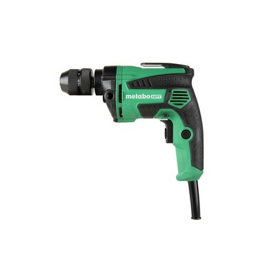 Metabo HPT D10VH2M 7 Amp Variable Speed 3/8 in. Corded Drill Driver with Metal Keyless Chuck Manufacturer Refurbished