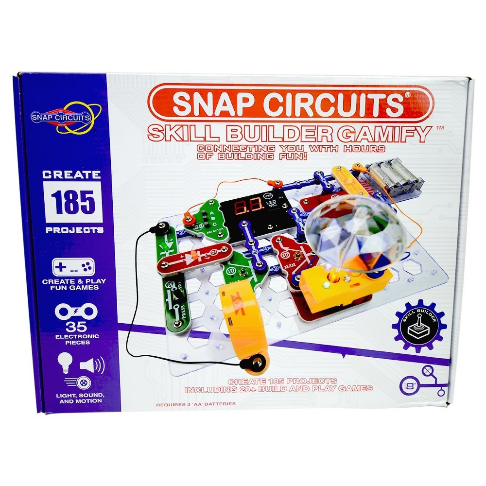 Snap Circuits Upc Barcode Pro 500in1 Sc500 S With Computer Inteface 756619011875 Circuit Skill Builder Gamify