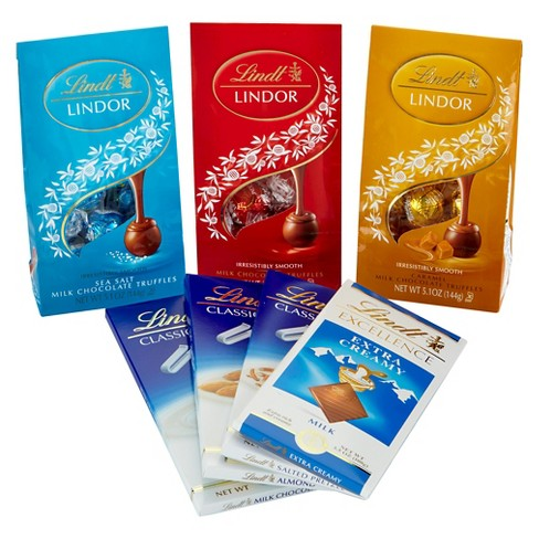 Lindt Milk Chocolate Lovers Gift Collection - image 1 of 1