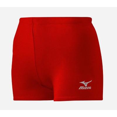 """Mizuno Women's Core Flat Front 3.5"""" Inseam Vortex Hybrid Volleyball Shorts"""