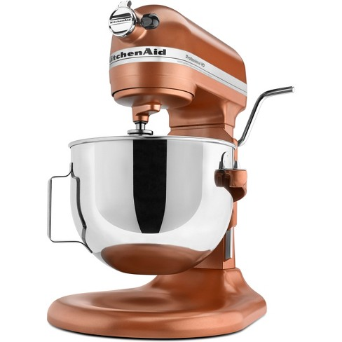 Kitchenaid Refurbished 5qt Bowl Lift Stand Mixer Copper Pearl