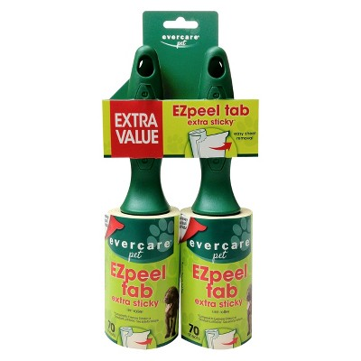Evercare Pet Twin Pack Lint Roller - 140 Sheets