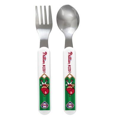 Philadelphia Phillies Fork & Spoon Set