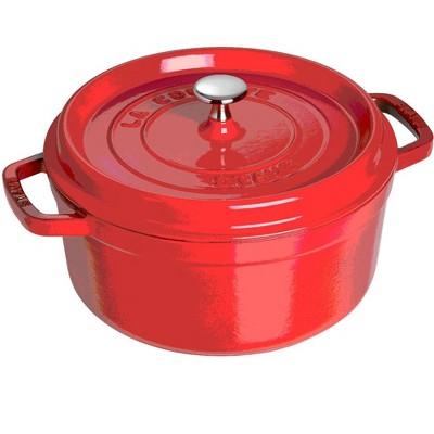 Staub Cast Iron 2.75-qt Round Cocotte