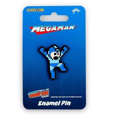 "Just Funky Mega Man Hero Pin | Just Funky Exclusive Mega Man Collectible Pin | 1.5"" Tall"