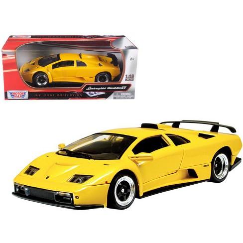 Lamborghini Diablo Gt Yellow 1 18 Diecast Model Car By Motormax Target