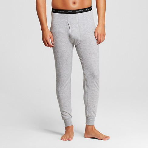 Men's Coldpruf Platinum Dual Layer Thermal Pants Heather Gray XXL -Thermal Underwear - image 1 of 2