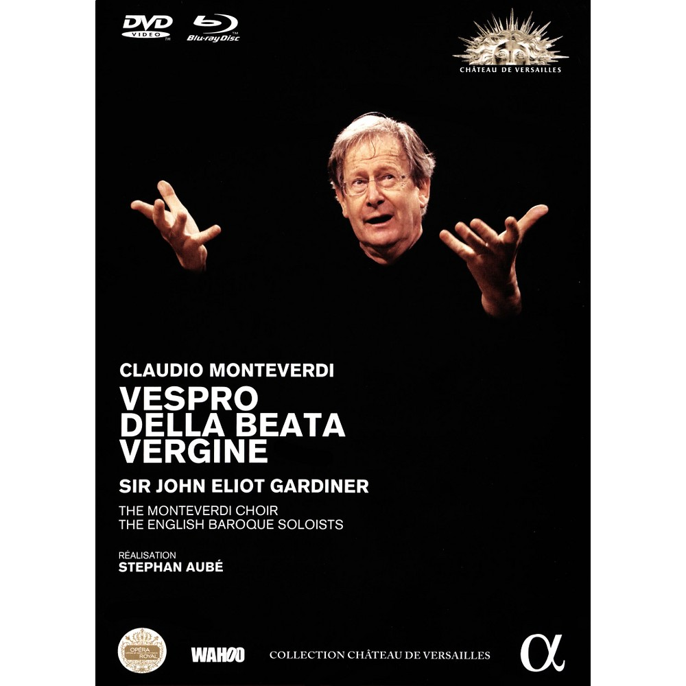 Monteverdi:Vespro Della Beata Vergine (Dvd)