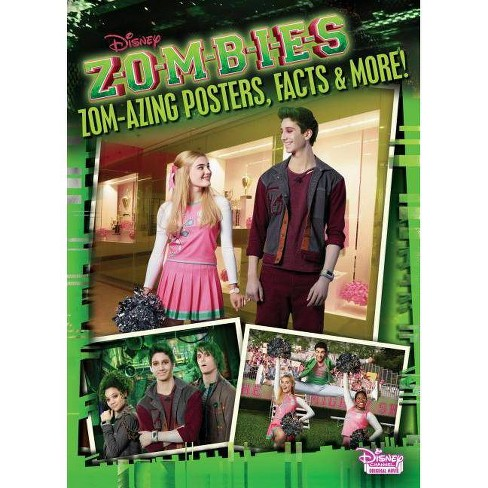 Zom-Azing Posters, Facts, and More! (Disney Zombies) - (Paperback) - image 1 of 1