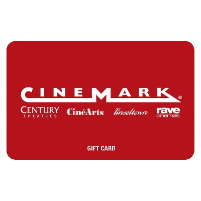Cinemark Theatres $50 (Email Delivery)