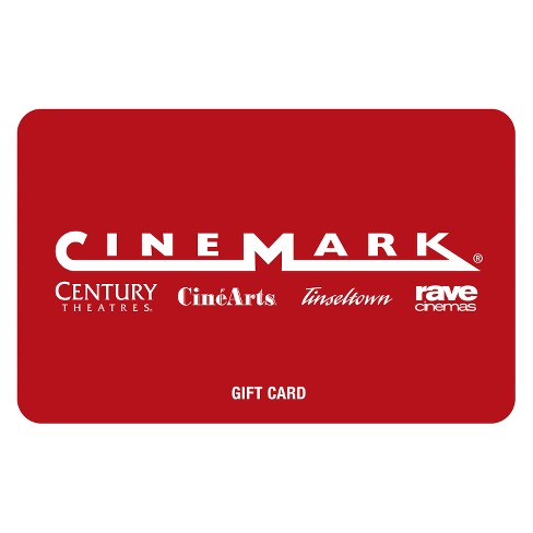 Cinemark Theatres Gift Card Email Delivery Target