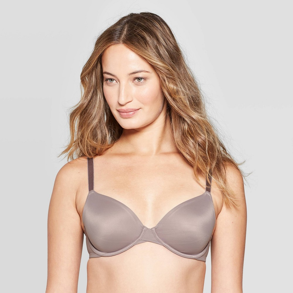 Women's Unlined Bra - Auden Rocket City Gray 36DD