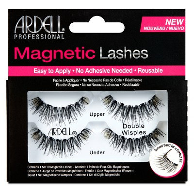 Ardell Double Wispies Magnetic Eyelashes Black - 1pr