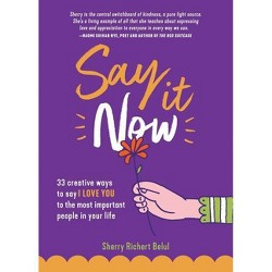 Say It Now - by Sherry Richert Belul (Paperback)