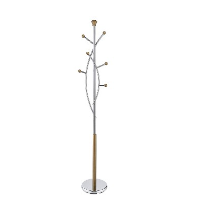 Silver Tree Coat Rack Gold - Proman Products
