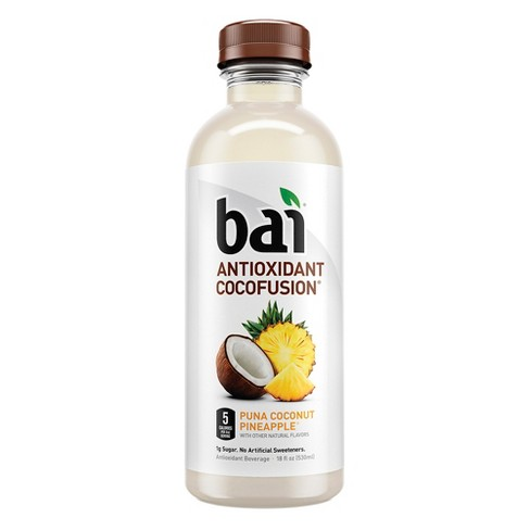 Bai Puna Coconut Pineapple - 18 fl oz Bottle - image 1 of 3
