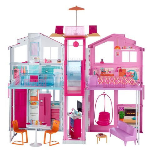 Barbie Pink Passport 3 Story Townhouse Target