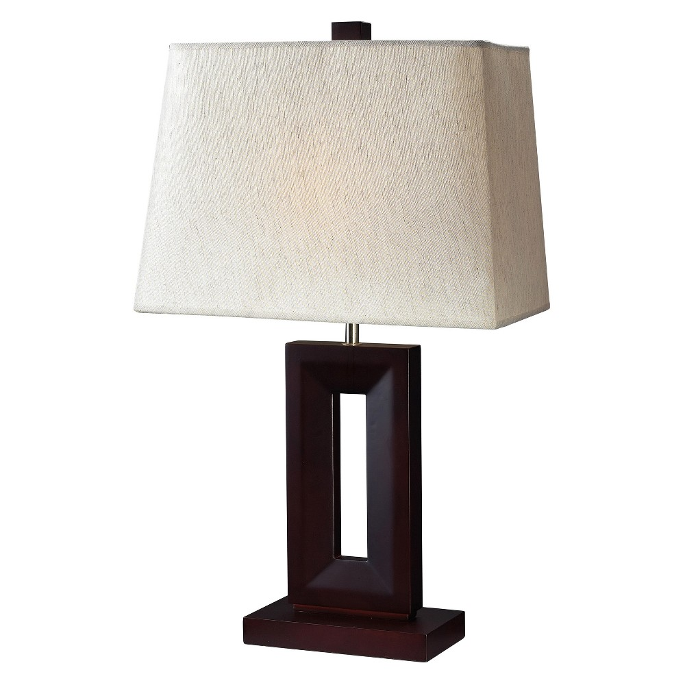 Z - Lite Table Lamp Mahogany (27.25'') (Includes Energy Efficient Light Bulb), Bronze