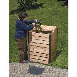 Cedar Compost Bin - Gardener's Supply Company