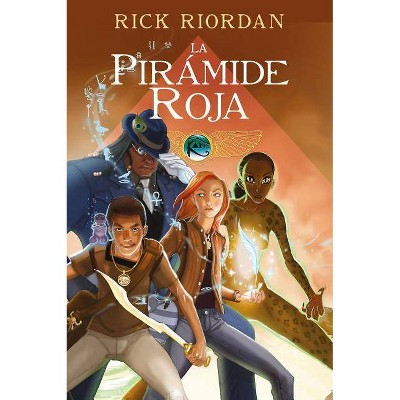 La Pirámide Roja. Novela Gráfica / The Red Pyramid: The Graphic Novel - (Las Cronicas de los Kane) by  Rick Riordan (Hardcover)