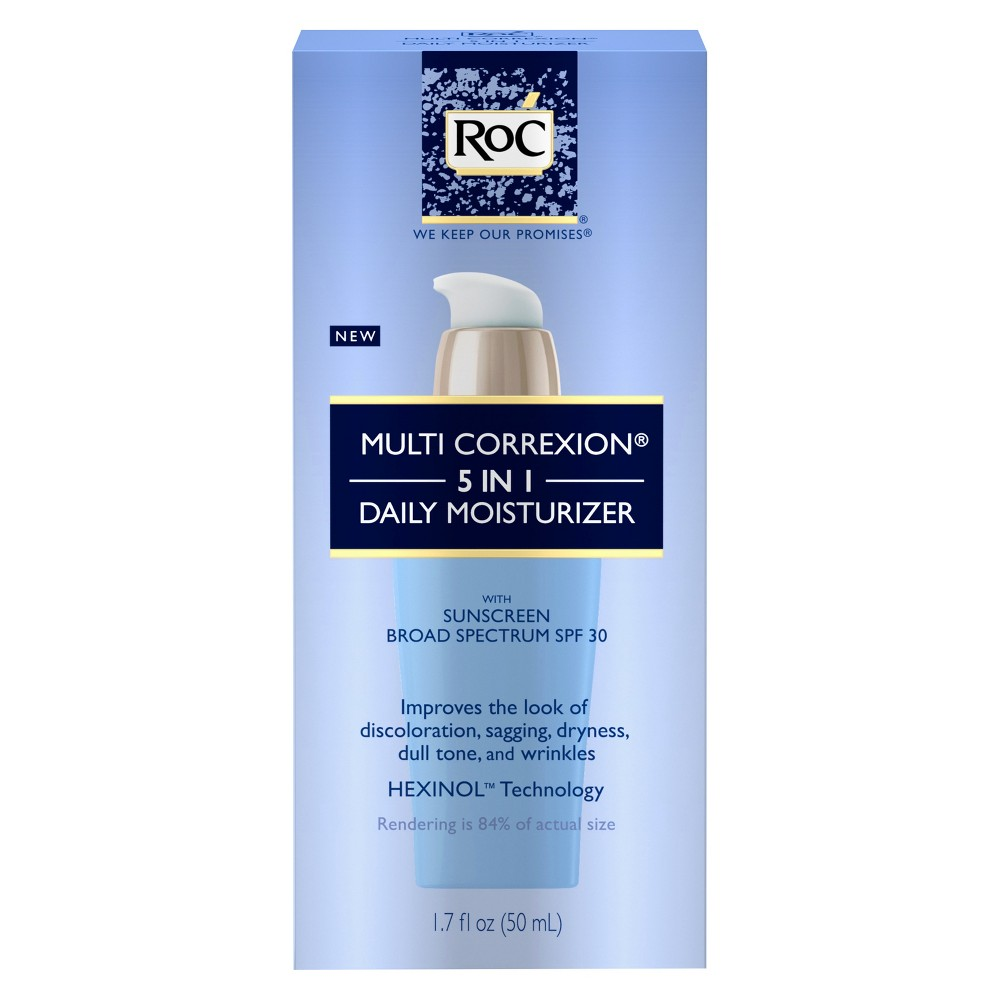 Image of Unscented RoC Multi Correxion 5 In 1 Anti-Aging Face Moisturizer - 1.7 fl oz