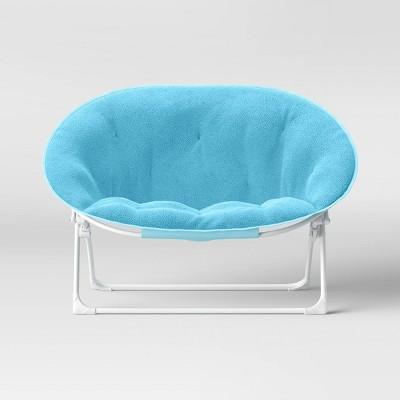 Kids' Double Dish Chair Aqua - Pillowfort™