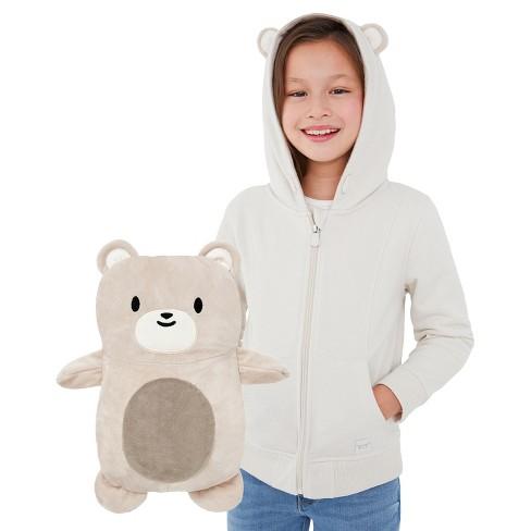 Cubcoats Kids Bori the Bear 2-in-1 Stuffed Animal & Hooded Zip Up Sweatshirt - image 1 of 4