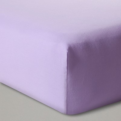 Fitted Crib Sheet Solid - Cloud Island™ - Purple