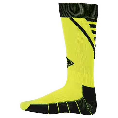 Franklin Sports Kids' Neo-Fit® Soccer Socks - Neon Yellow - image 1 of 1