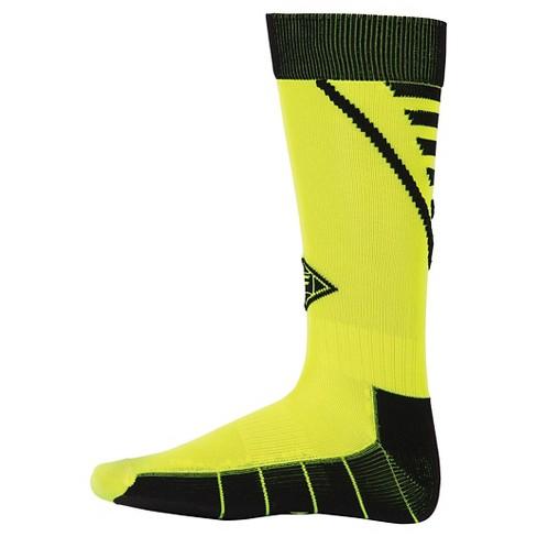 3a47e814819 Franklin Sports Kids  Neo-Fit® Soccer Socks - Neon Yellow   Target