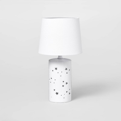 2-in-1 Starry Table Lamp White - Pillowfort™