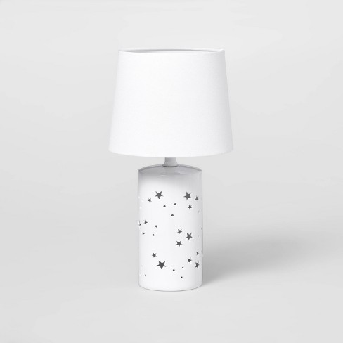 2-in-1 Starry Table Lamp White - Pillowfort™ - image 1 of 4