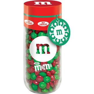 M&Ms Milk Christmas Gift Jar - 13oz