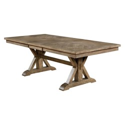 Iohomes Jellison Transitional Expandable Dining Table Light Oak - HOMES: Inside + Out