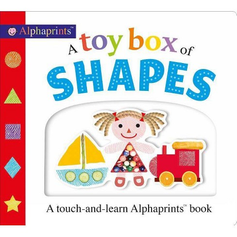 A Toy Box of Shapes - (Alphaprints) by  Roger Priddy (Board_book) - image 1 of 1